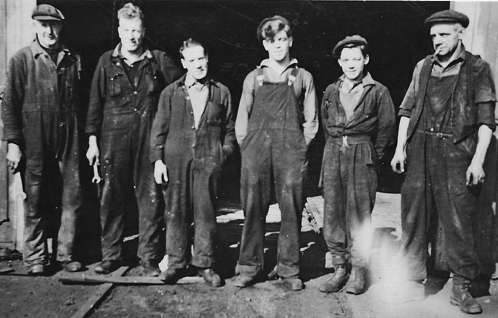 Engineers at Auchlochan Colliery