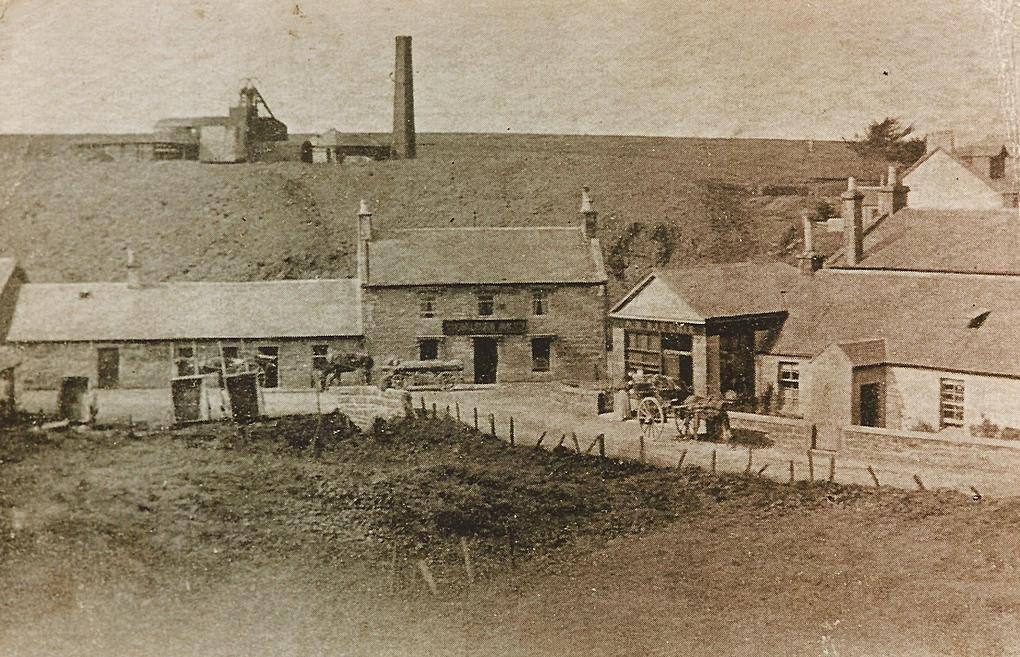 Coalburn Inn and colliery The Maid