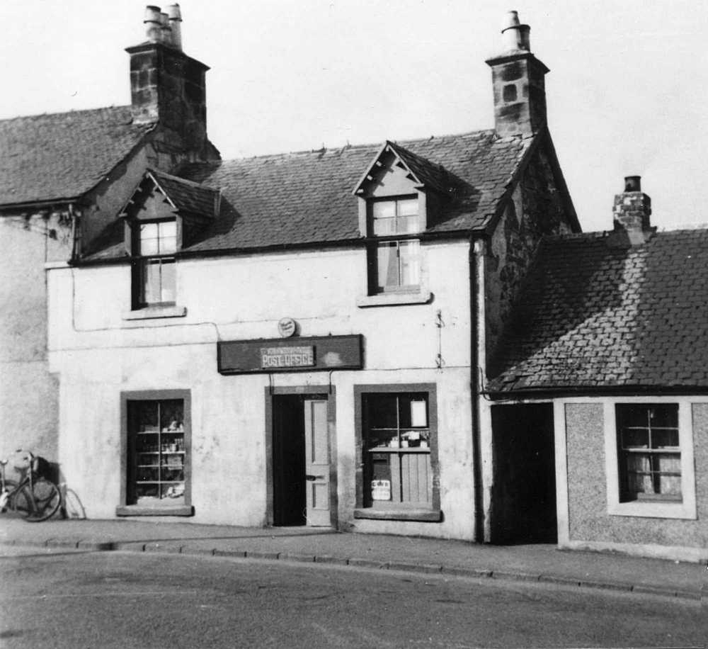 Post Office in Kirkmuirhill in 1950s