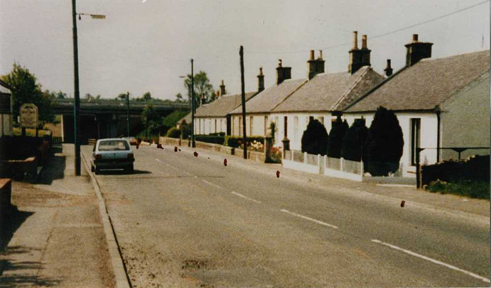 West End of Kirkmuirhill in 1987